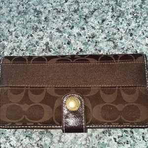 Coach wallet. Good size